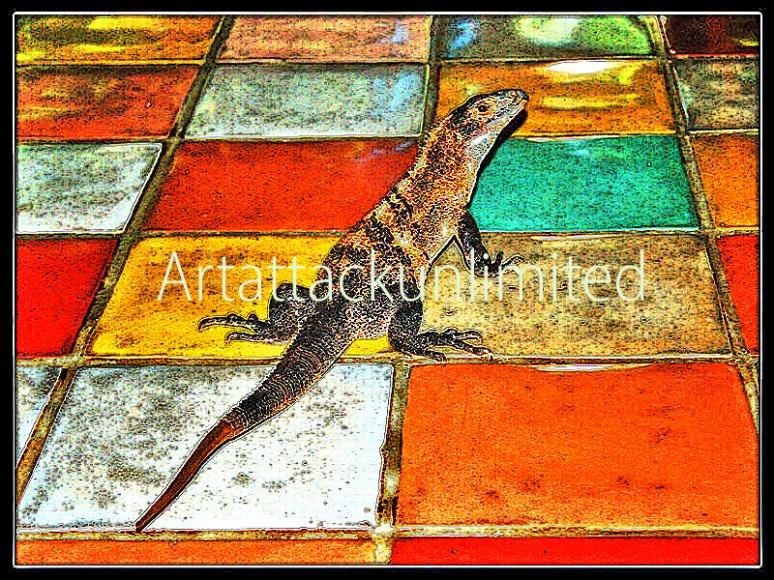 Reptilian Tile